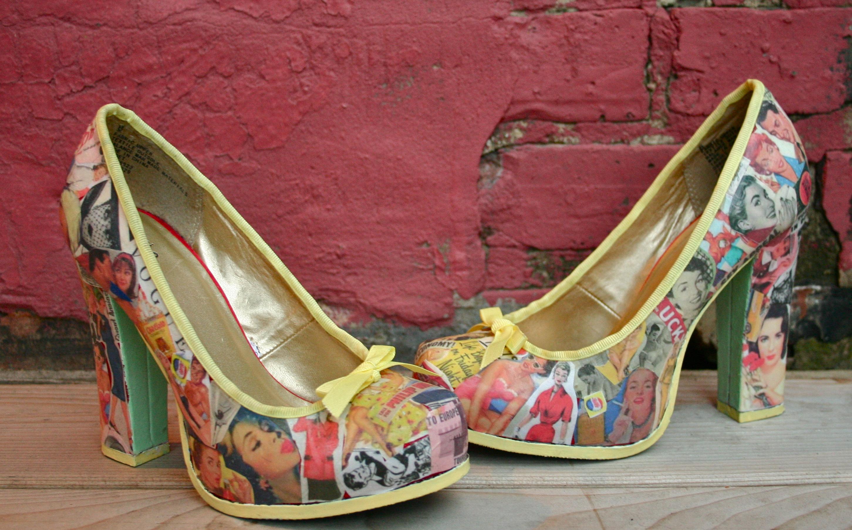 Реставрация туфли